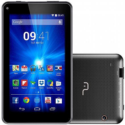 """Tablet Multilaser M7-I - Tela 7"""", 8GB, Intel Atom Quad Core, Wi-Fi - Preto - NB190 - Liquidação peça de vitrine - Garantia 90 dias"""