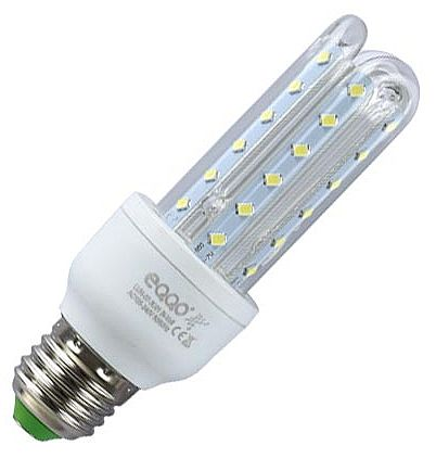 Lâmpada LED 7W WiseCase - Bivolt - Soquete E27 - Cor 6500k - 500 Lumens - LUHN-07-3U01-B
