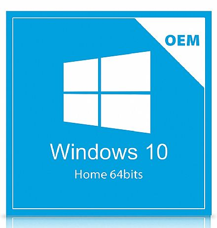 Windows 10 Home 64bits - KW9-00154