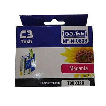 Cartucho compatível Epson T0633 Magenta - C3 Tech NP-N-0633
