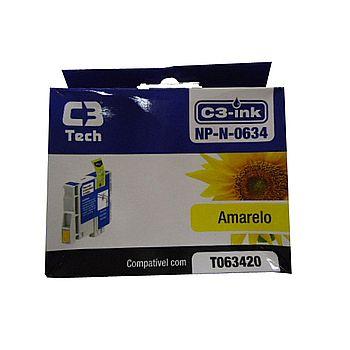 Cartucho compatível Epson T0634 Amarelo - C3 Tech NP-N-0634