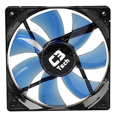 Cooler 120x120mm C3 Tech Storm - com LED Azul - F7-L100 BL