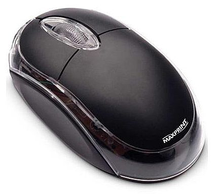 Mouse Maxprint - USB - 1000dpi - 606157