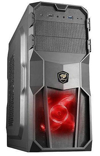 Gabinete Cougar MX200 - USB 3.0 - com LED Vermelho - 5MS9
