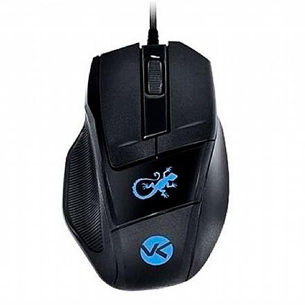Mouse Gamer Vinik VX Lizard - 1000dpi - Azul - 23546