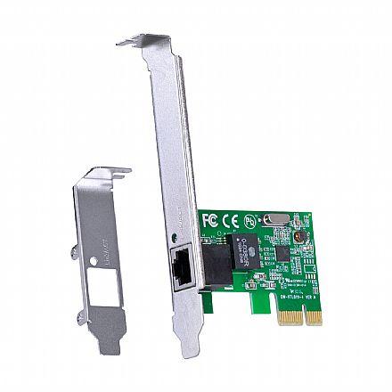 Placa de Rede PCI Express Vinik PRV100E - 10/100Mbps - Acompanha Espelho Low Profile