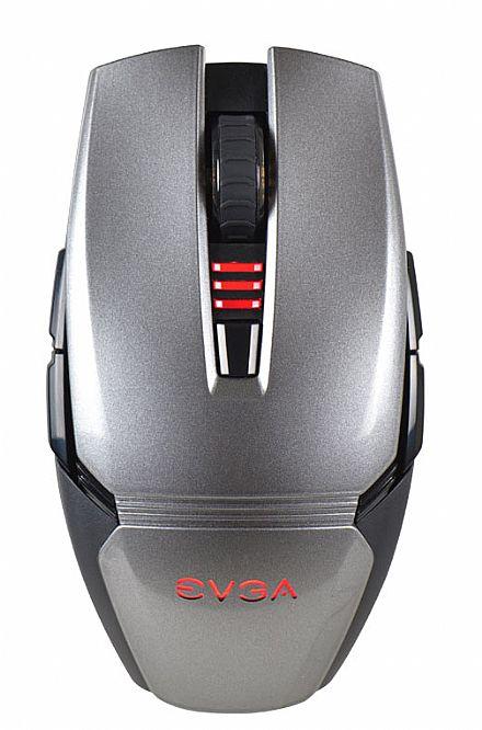 Mouse Gamer EVGA Torq X3 - 4000dpi - 8 botões - 902-X2-1032-KR