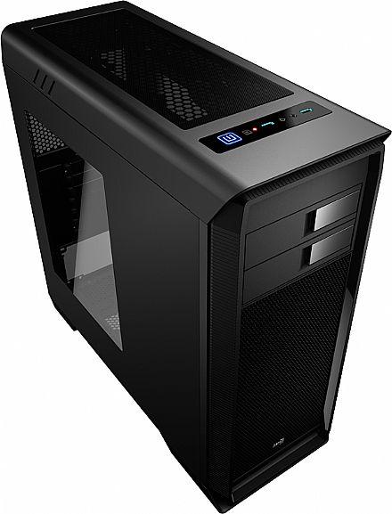Gabinete AeroCool AERO 1000 - Janela Lateral em Acrílico - USB 3.0 - EN55293