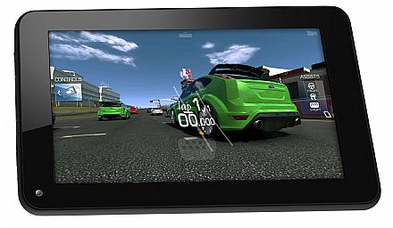 "Tablet Multilaser M7S - Tela 7"", Quad Core 1.2GHz, 8GB, Wi-Fi, Android - Preto - NB184"