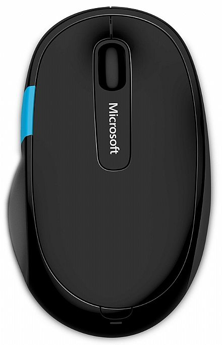 Mouse sem Fio Microsoft Sculpt Comfort - Bluetooth - H3S-00009