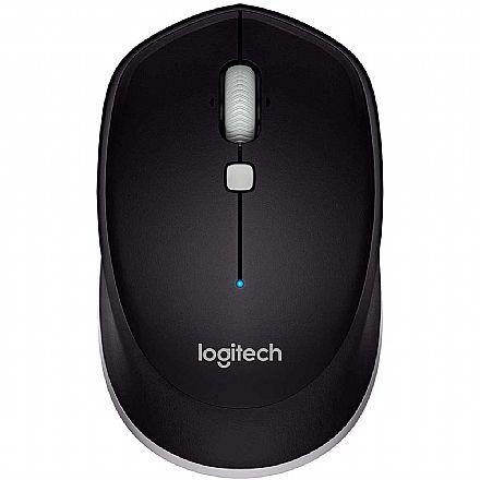 Mouse sem Fio Logitech M535 - Bluetooth - Preto - 910-004432
