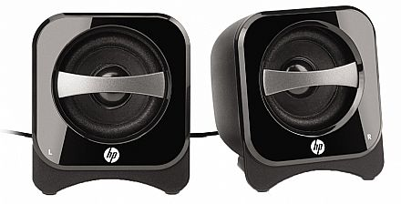 Caixa de Som 2.0 HP BR387AA Compact