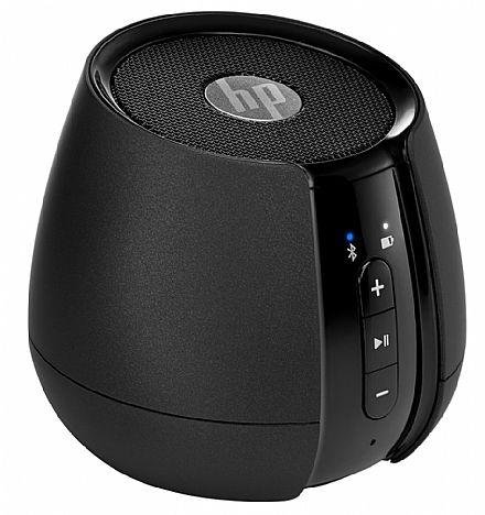 Caixa de Som Bluetooth HP S6500 - 2W RMS - Preto - N5G09AA