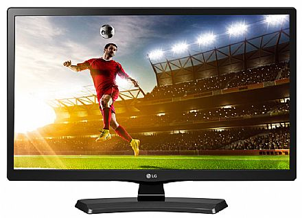 "Monitor TV 19.5"" LG 20MT49DF-PS LED - HD - 5ms - USB - HDMI - Conversor Digital Integrado"