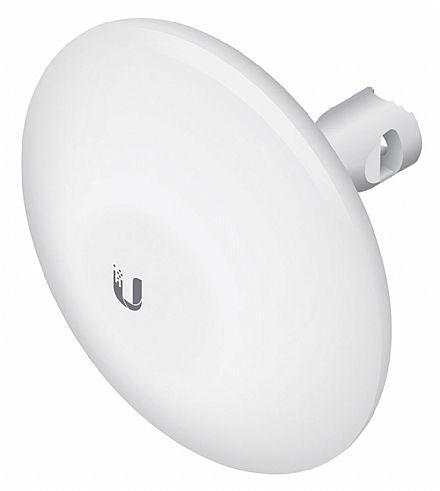 CPE Ubiquiti NanoBeam 16 dBi - Wi-Fi Externo - 5 GHz - 10+ km airMAX® Bridge - NBE-M5-16