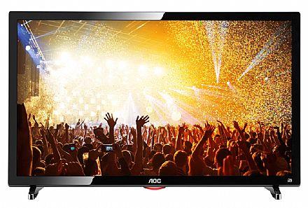 """Monitor TV 24"""" AOC LE24D1461 LED - Full HD - HDMI - Video Player USB - Conversor Digital Integrado"""
