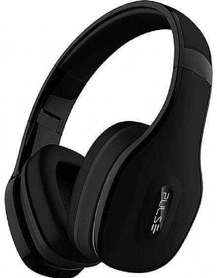Fone de Ouvido Bluetooth Pulse Multilaser PH150 - com Microfone - Preto