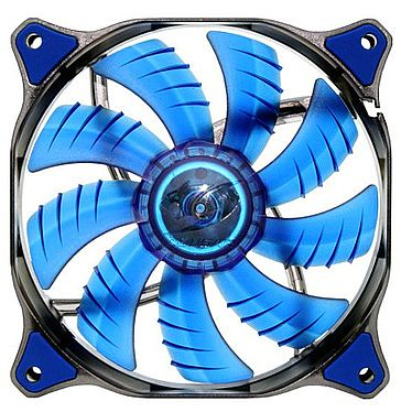Cooler 120x120mm Cougar Dual-X - LED Azul - CF-D12HB-B