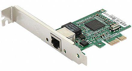 Placa de Rede Gigabit PCI Express Vinik PRV1000E - Gigabit - Acompanha Espelho Low Profile