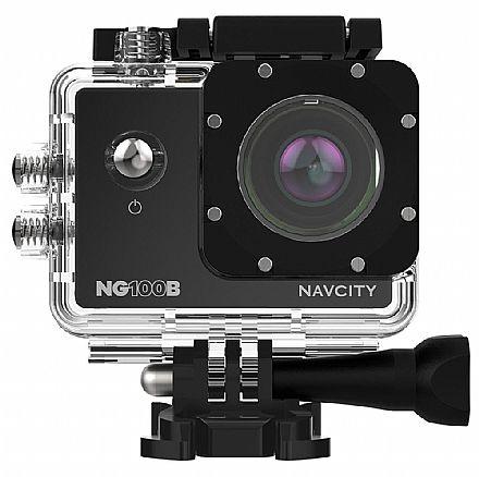 Filmadora Sportcam Navcity NG-100B - Full HD - 12 Mega Pixels - 1080p - Case à prova d`água - Preto