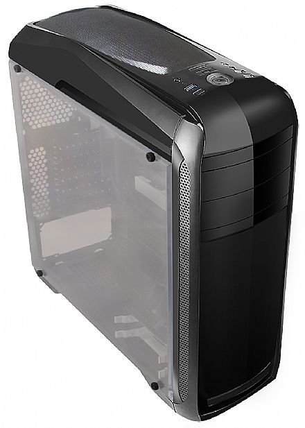 Gabinete Gamer Bluecase BG-024 - USB 3.0 - Janela Lateral de Acrílico