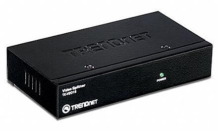 Multiplicador de Video - Vídeo Splitter - 2 saídas VGA - Trendnet TK-V201S