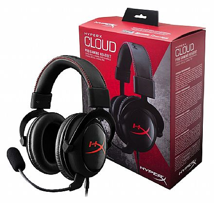 Headset Gamer Kingston HyperX Cloud I KHX-H3CL/WR - Preto e Vermelho