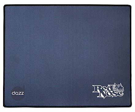 Mouse Pad Dazz Red Nose Speed M - 400x320x5mm - 624412