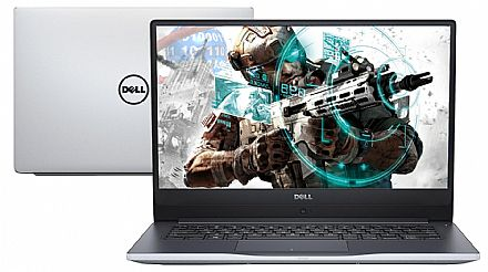 "Notebook Dell Inspiron i15-7560-R20S Ultrafino - Tela 15.6"" Full HD Infinita, Intel i7 7500U, 16GB, HD 1TB + SSD 120GB, GeForce GT 940MX 4GB, Windows 10 - Garantia 1 ano - Seminovo"