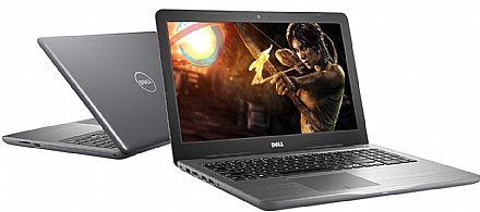 """Dell Inspiron I15-5567-D30C - Tela 15.6"""" HD, Intel i5 7200U, 8GB, HD 1TB, DVD, Video Radeon R7 M445 2GB, Linux"""
