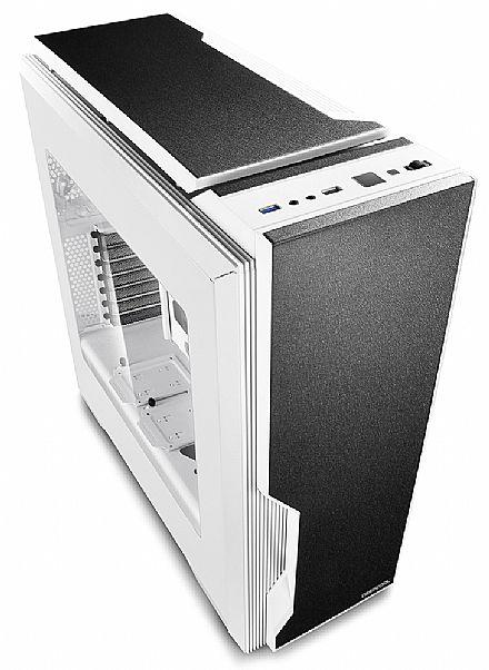 Gabinete DeepCool Dukase V3 White - Janela Lateral em Acrílico - Controlador de Fan - Branco - ATX-DUKWH-V3