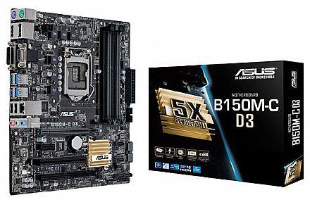 Asus B150M-C D3/BR (LGA 1151 - DDR3) - Chipset Intel B150