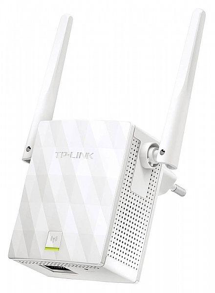 Extensor de Alcance Wi-Fi TP-Link TL-WA855RE - 300Mbps - Repetidor de Sinal - com Porta RJ45 - com 2 Antenas
