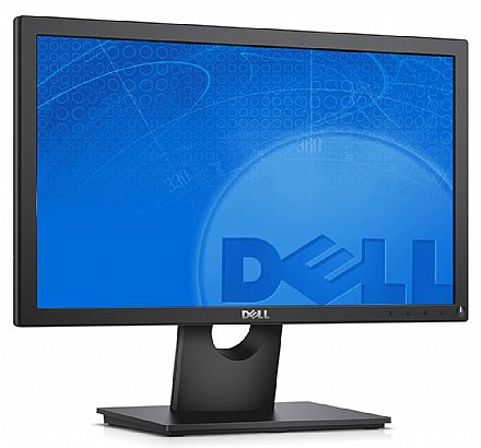 "Monitor 18.5"" Dell E1916H - Furação VESA - 5ms - 60Hz - DisplayPort/VGA"