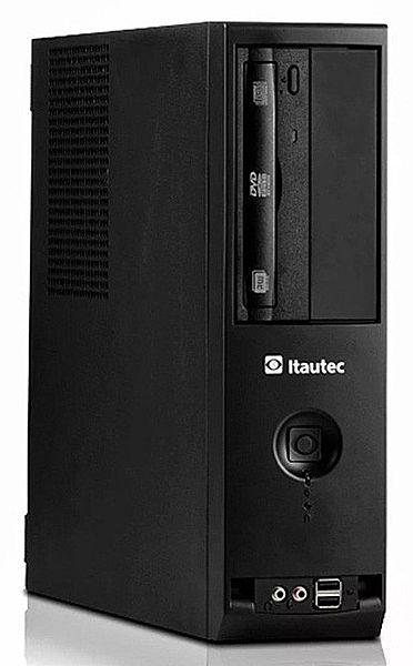 Computador Itautec Infoway ST 4272 - Intel® i5, 4GB, HD 500GB, DVD, Windows 7 Pro - Garantia 1 ano - Seminovo