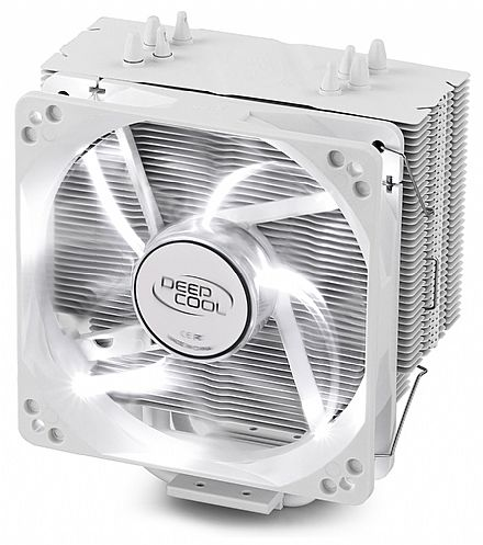 Cooler DeepCool Gammaxx 400 White (AMD / Intel) - LED Branco - DP-MCH4-GMX400WH