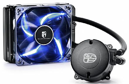 Water Cooler DeepCool Maelstrom 120T (AMD / Intel) - LED Azul - DP-GS-H12RL-MS120T