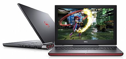 "Notebook Dell Gaming Edition i15-7567-A20P - Tela 15.6"" TN Full HD, Intel i7 7700HQ, 16GB, HD 1TB + SSD 240GB, GeForce GTX 1050 Ti 4GB, Windows 10 - Outlet"