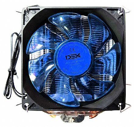 Cooler DEX DX-9000 (Intel / AMD) - LED Azul - 38.5 CFM