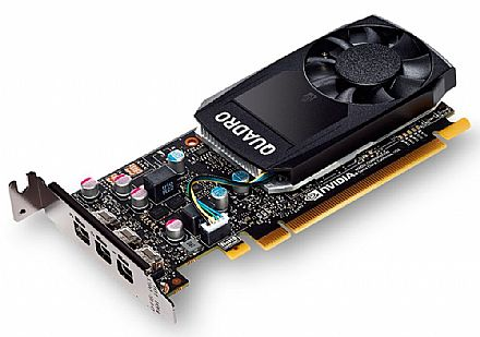 Placa Gráfica Nvidia Quadro P400 2GB GDDR5 64bits - PNY VCQP400-PORPB