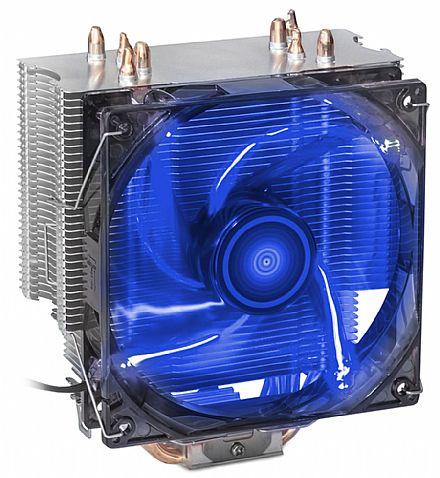Cooler DEX DX-2011 (Intel / AMD) - LED Azul - 70.0 CFM