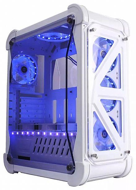 Gabinete X-Trike Gaming Blizzard - Janela Lateral em Acrílico - USB 3.0 - Branco - G7 W/B