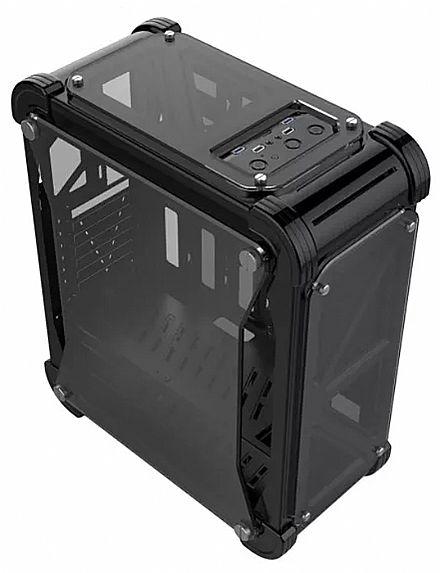Gabinete X-Trike Gaming Darkness - Janela Lateral em Acrílico - USB 3.0 - Preto - G7 BK