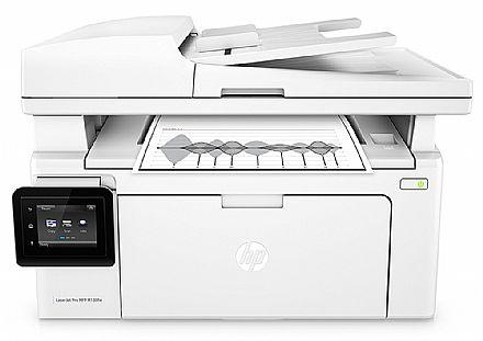Multifuncional Laser HP LaserJet Pro M130FW - USB, Rede, Wi-Fi - Impressora, Copiadora, Scanner e Fax - G3Q60A