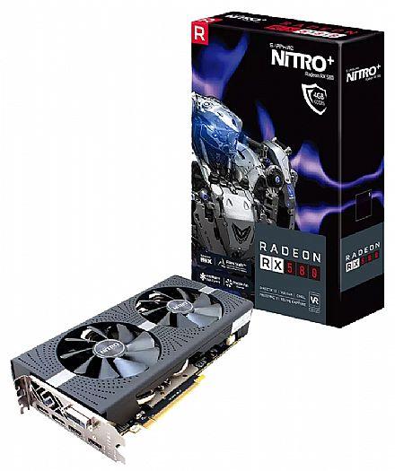AMD Radeon RX 580 4GB GDDR5 256bits - NITRO+ - Sapphire 11265-07-20G
