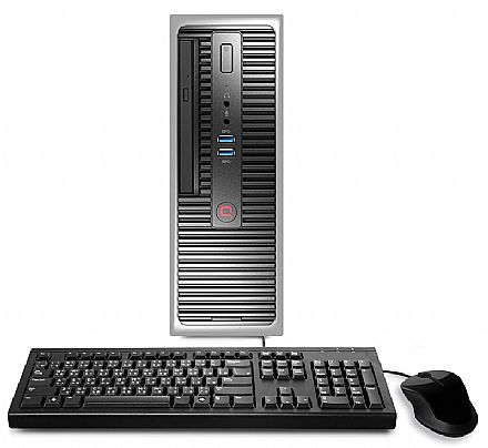 Computador Compaq Presario CQ-14 - Intel i3 6100T, 4GB, HD 500GB, DVD, Kit Teclado + Mouse, Windows 10