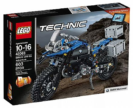 LEGO Technic - BMW R 1200 GS Adventure - 42063