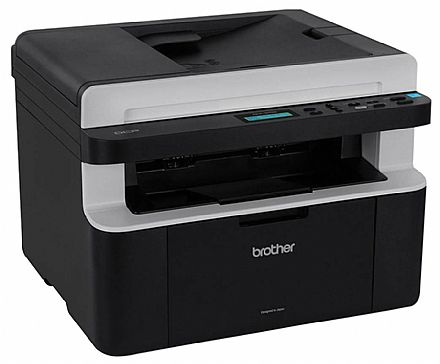 Multifuncional Brother Laser DCP-1617NW - USB, Rede, Wi-Fi - Impressora, Copiadora e Scanner