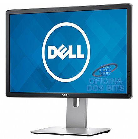 """Monitor 19.5"""" Dell P2016 - com Rotação e Ajuste de Altura - Furação VESA - 8ms - 60Hz - USB - VGA/DisplayPort"""