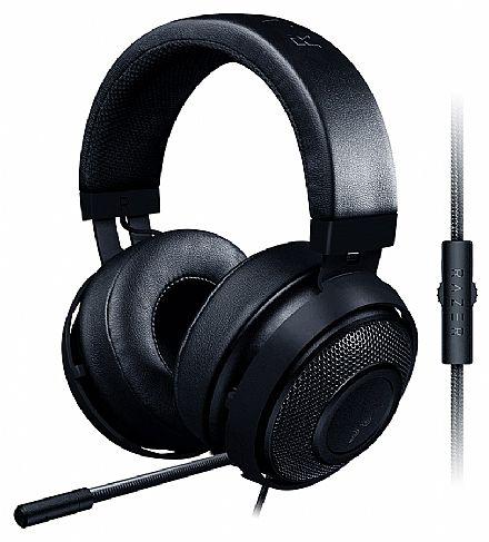 Headset Razer Kraken Pro V2 - Microfone retrátil - com Controle de Volume - Preto - RZ04-02050400-R3U1